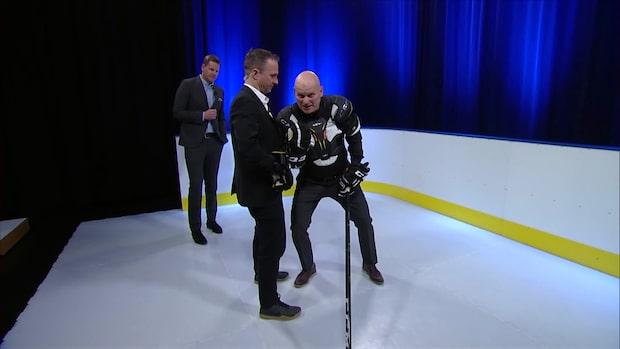 """Håkans hockeyskola: """"Lär dig - annars är  det tack och godnatt"""""""