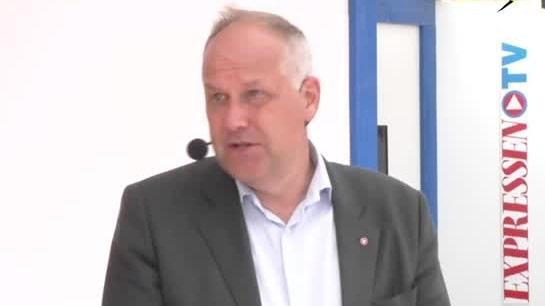 Almedalen 2019: Raka svar med Jonas Sjöstedt (V)