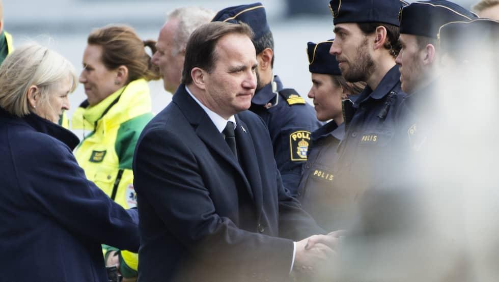 Den nye Stefan Löfven. Foto: Anna-Karin Nilsson