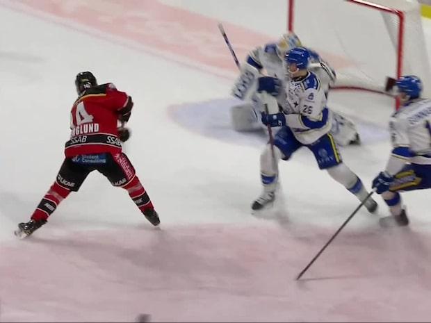 Highlights: Luleå körde över Leksand