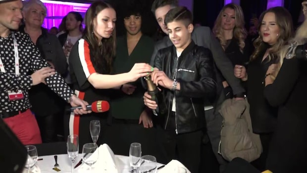 Bishara firar finalplatsen i Melodifestivalen