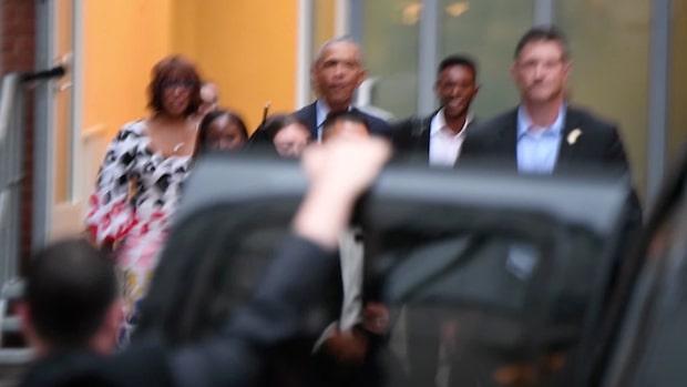 Malia Obamas dygn i Sverige – åt sushi med sina vänner