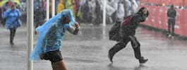 Extremhettan försvinner – hit kommer regnet