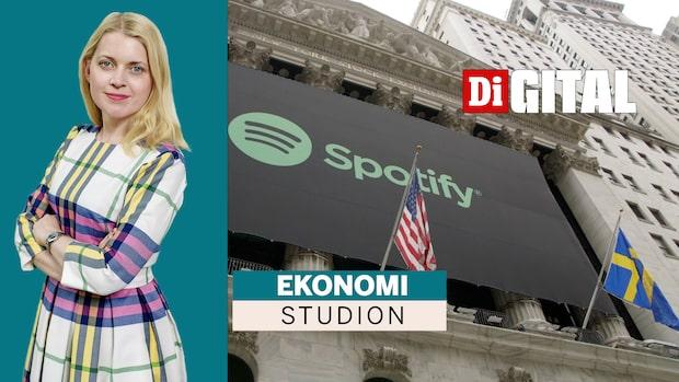 Onsdag förmiddag är det Spotifys tur att visa korten