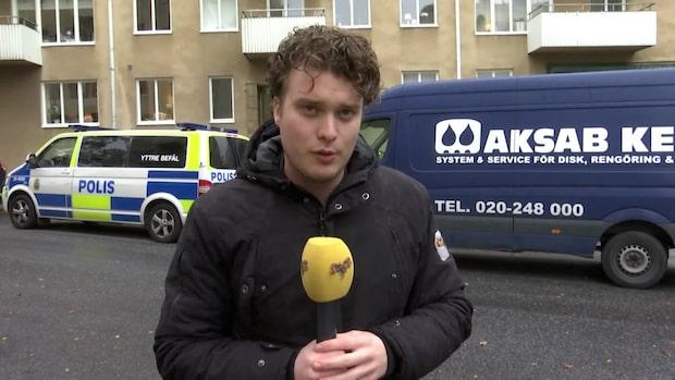 Person allvarligt skadad på Kungsholmen