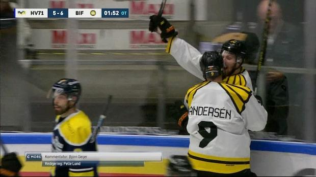 Highlights: Molin hjälte för Brynäs mot HV71