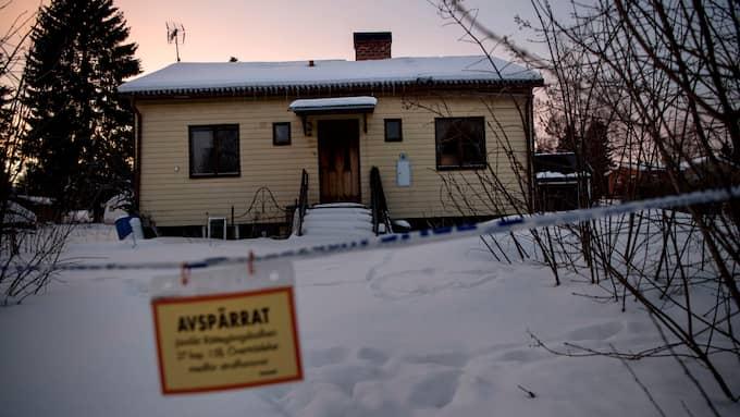 Therese Palmkvist, 31, hittades mördad i sitt hus i Långshyttan. Foto: ALEX LJUNGDAHL