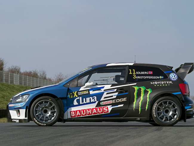 VW har byggt sin rallycross-VM-bil på drygt tre månader.