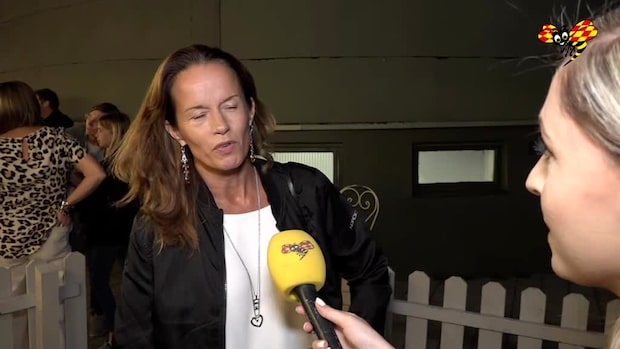 Hyllningen till Lill-Babs inför Malin Berghagen