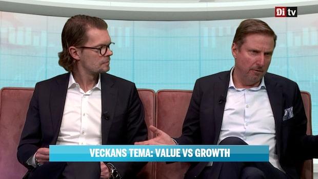 Veckans tema om Value vs Growth
