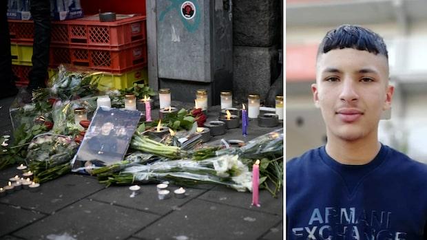 15-årige Jaffar sköts ihjäl i Malmö –grannarna och anhöriga tände ljus