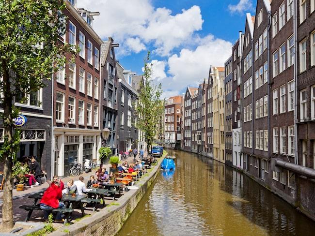 Amsterdam hör till en av världens mest populära weekendstäder.