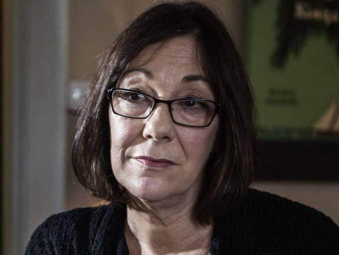 Dokumentärfilmaren Susan Goldsmith berättar om smutsiga kampanjer från läkarna som förespråkar diagnosen skakvåld. Foto: Axel Öberg