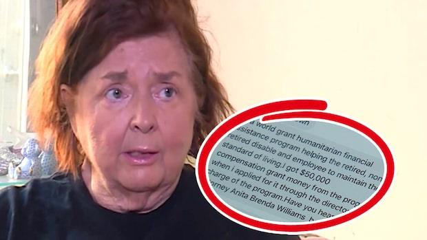 Orden från bedragaren – som kostade henne nästan en miljon