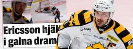 Ericsson hjälte i galna dramat