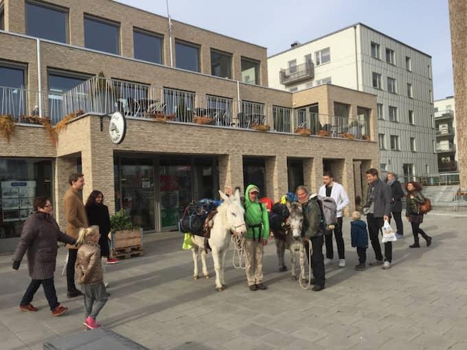 Göteborg är slutmålet för det här konstprojektet, säger Helena Kågemark. Foto: Vanessa Destramau