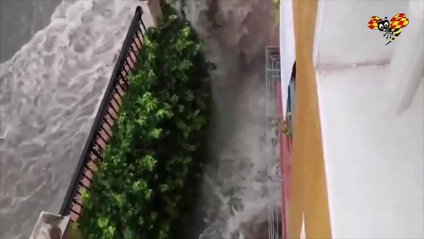 Värsta översvämningarna på över 100 år i Spanien