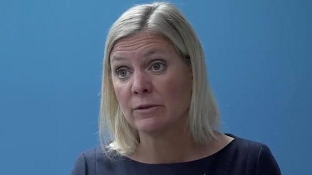 """Finansministern: """"Historiskt stort fall"""""""