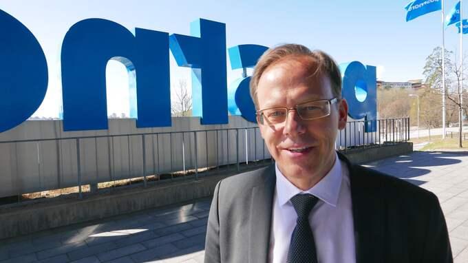 Postnordchefen Håkan Ericsson har i ett mejl till regeringen vädjat om uppbackning i form av positiva uttalanden från näringsminister Mikael Damberg. Foto: LEIF BRÄNNSTRÖM