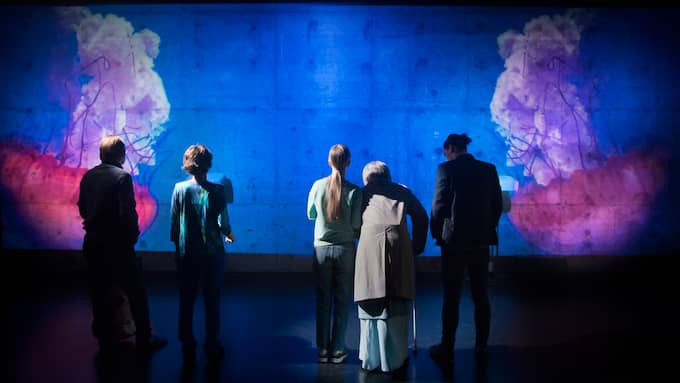 Oskar Thunberg, Ana Gil De Melo Nascimento, Maia Hansson Bergqvist, David Fukamachi Regnfors och Lars Bringås. Foto: Markus Gårder