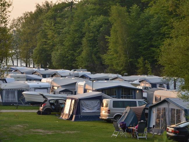 För många blir inte campingsemestern som de hade tänkt sig.