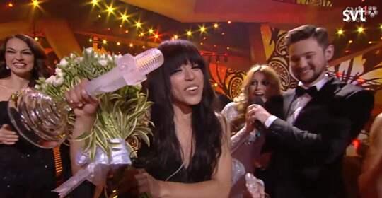 """Loreen utklassade allt motstånd i årets """"Eurovision song contest""""."""