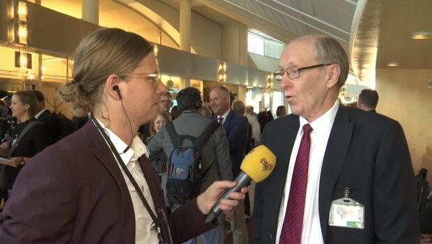 """K-G Bergström: """"Det är en historisk händelse"""""""