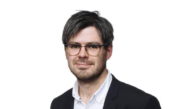 Expressen Kulturs medarbetare Joel Halldorf. Foto: Mikael Sjöberg