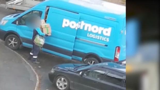 Här går allt snett för Postnord-chauffören