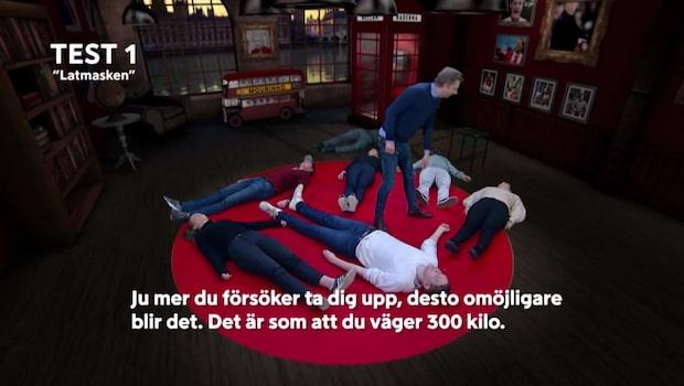 """Studion i chock efter hypnosen: """"Förstår inte"""""""