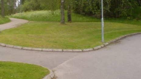 Kvinnan ska ha blivit våldtagen i Fjärdingsparken i centrala Borås. Foto: TOBIAS SANDBLOM