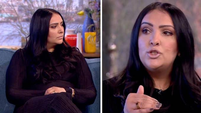 I brittisk tv berättar hon om sin dagliga rutin. Foto: ITV