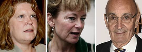 Cecilia Stegö Chilò, Lena Adelsohn Liljeroth och Ulf Adelsohn är tre tunga moderater som gått till öppet angrepp mot partiledningen och den så kallade decemberöverenskommelsen på Facebook.