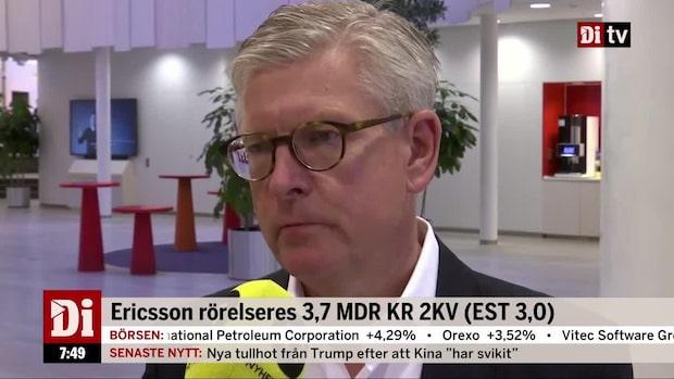 """Börje Ekholm: """"Vi levererar ytterligare ett kvartal med en stabil utveckling"""""""