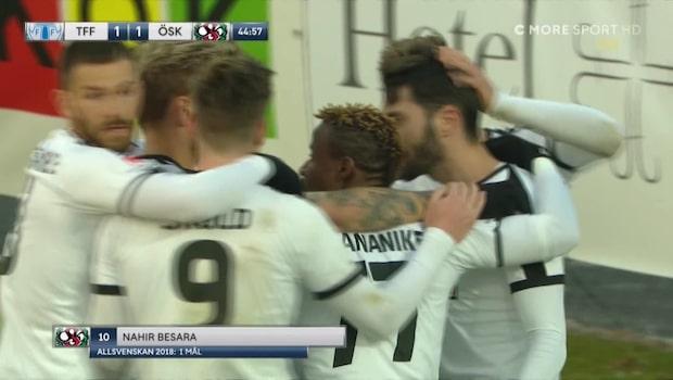 Nahir Besara vände på egen hand matchen mot Trelleborg