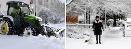Prognos: Så blir det  med snö på julafton