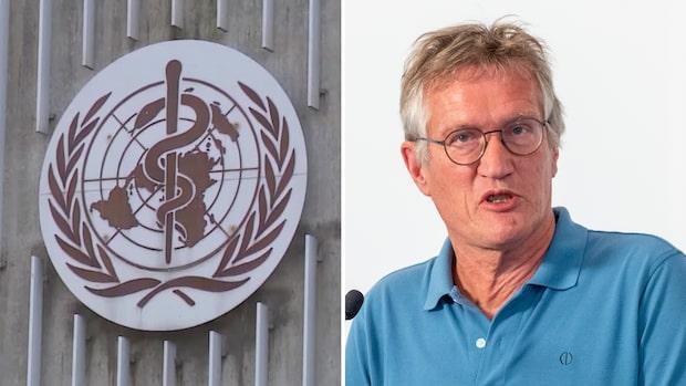 WHO ändrar sig igen – Sverige är ett riskland