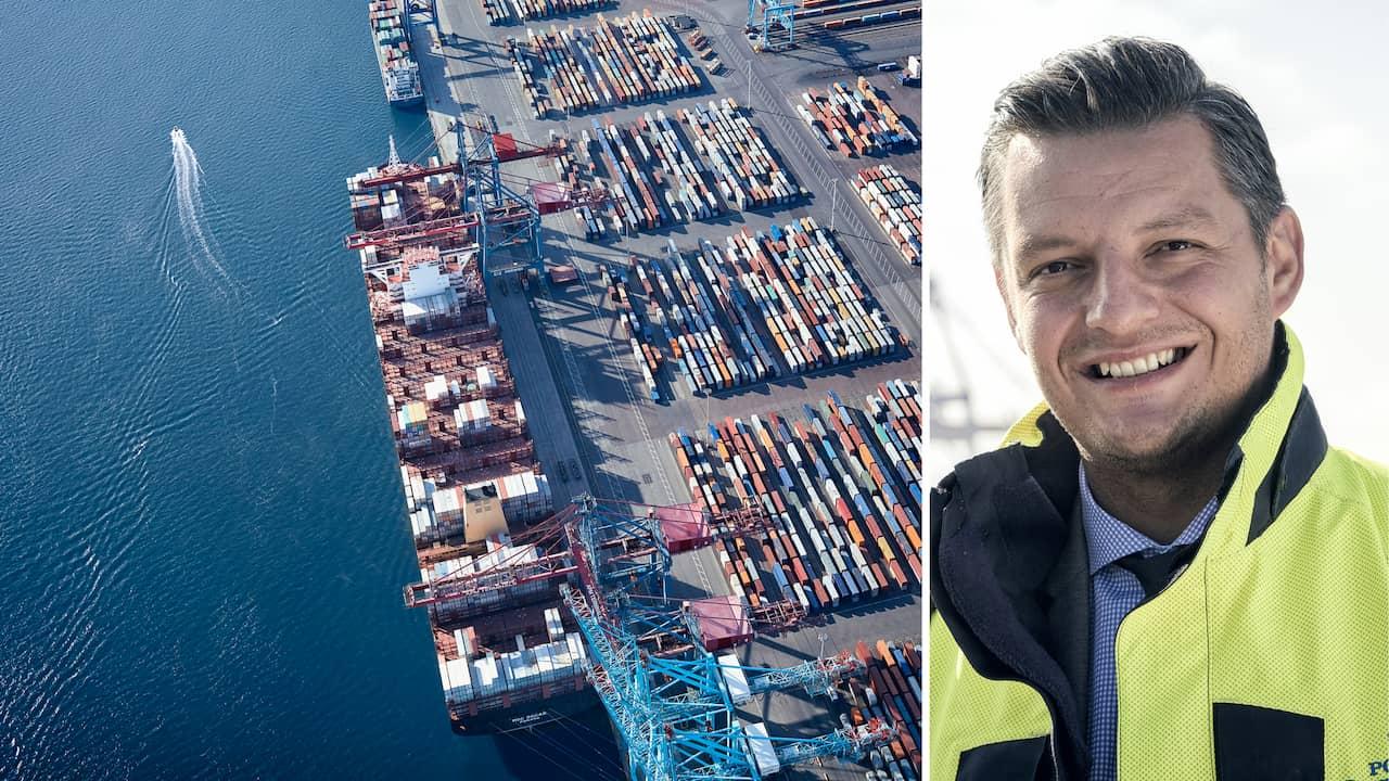 Göteborgs hamn: Container- terminalen blir fossilfri 2020