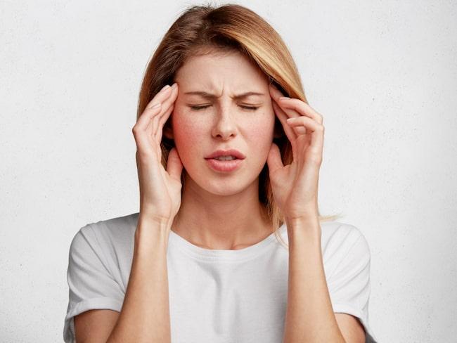 huvudvärk vid allergi