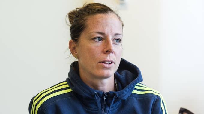 Lotta Schelin. Foto: LINE SKAUGRUD LANDEVIK / BILDBYRÅN