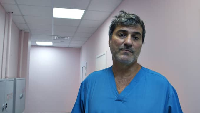 Skandalkirurgen Paolo Macchiarini. Foto: SVT
