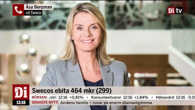 """Swecos vd: """"Vi stärker vår ledande position i Europa"""""""