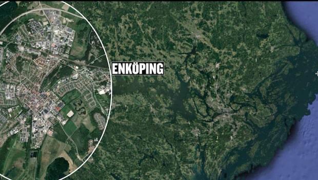 25-årig man knivskuren i Enköping