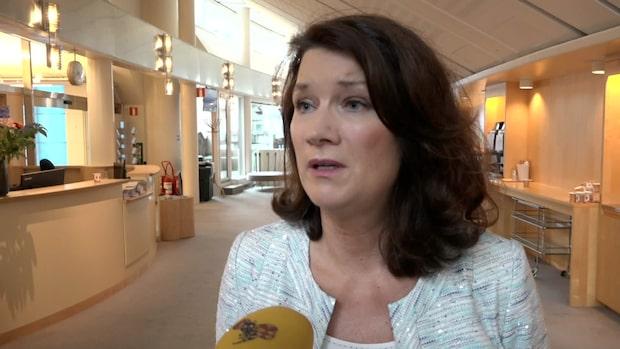 """Ann Linde om nya uppdraget: """"Enkelt beslut"""""""