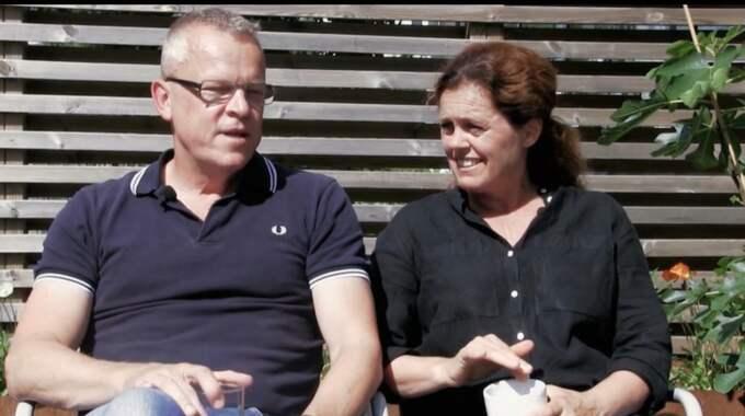 Janne och hustrun Ulrika Foto: TV3
