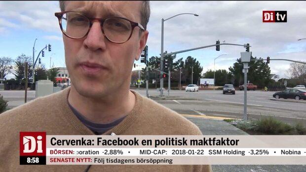 Facebook blir en allt viktigare politisk plattform