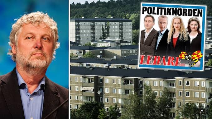 Bostadsminister Peter Eriksson vill bygga nya satellitstäder runt storstäderna. Men det vore att göra om gamla, kostsamma misstag, menar ekonomhistorikern Jan Jörnmark som intervjuas i ledarredaktionens podcast.