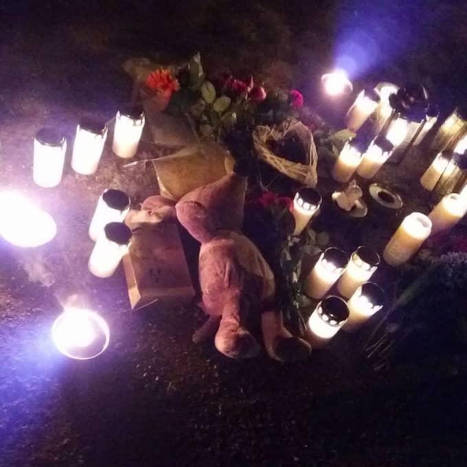 Nu hyllas hans minne av familj, vänner och främlingar. Foto: Privat