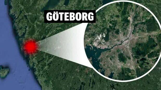 Man hittad skjuten i benet i Göteborg
