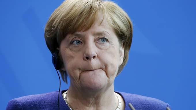 Angela Merkel. Foto: FELIPE TRUEBA / EPA / TT / EPA TT NYHETSBYRÅN